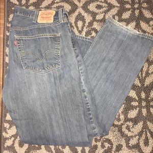 Men's 501 Levi Jeans 40W X 32L